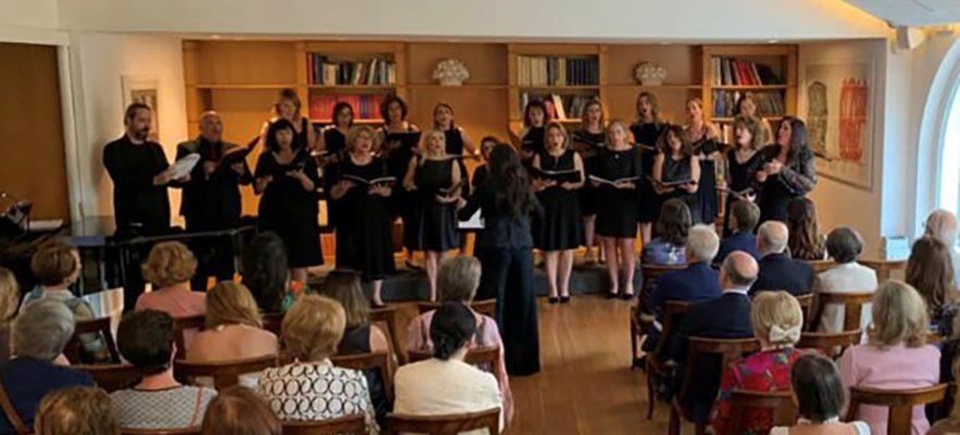 Concerto del coro dell'Associazione Consorti