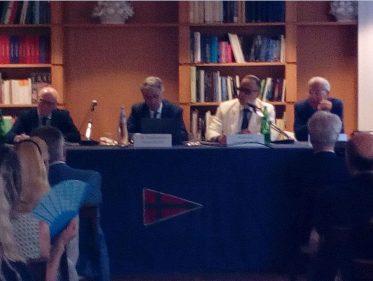 Incontro Con L'Ambasciatore Del Principato Di Monaco S.E. Robert Fillon