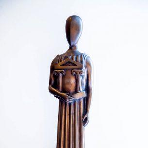 """Giorgio De Chirico - """"La Grande Musa"""" (1986)"""