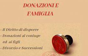 Donazioni E Famiglia